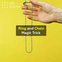 """Ring and Chain Magic Trick Whoa, did you see that?😳 Seems like Frodo mastered this trick a while ago. For step-by-step instructions of this experiment click """"Visit"""""""