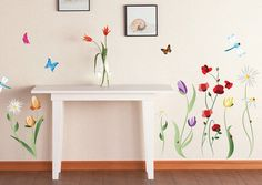 Spring Flowers Wall Decal Sticker Wall Decal at AllPosters.com