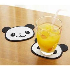 panda silicone coaster