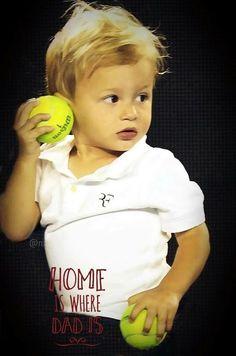 Roger Federer's son