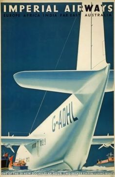 Vintage British Airways Concorde Poster A4//A3//A2//A1 Print