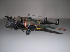 Handley Page Hampden Squadron Plastic Model Kits, Plastic Models, Model Airplanes, Hadley, Scale Models, Air Force, Fighter Jets, Aircraft, Book