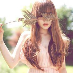 ulzzang, korean, and pony image Pony Makeup, Hair Makeup, Park Hye Min, Cute Asian Fashion, Long Bangs, Classic Beauty, Ulzzang Girl, Beauty Women, Hair Inspiration