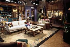 Monica Geller and Rachel Green's apartment from Friends. | Community Post: 18 TV Apartments And Houses You Wish You Lived In