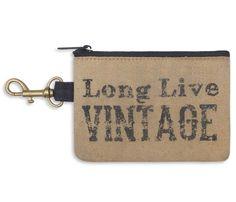 Long Live Vintage Coin Purse