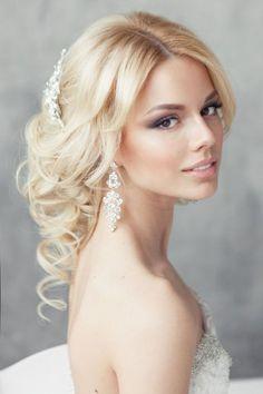 Brautfrisuren Fur Blonde Haare Romantische Verspielte Frisur