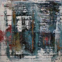 """Koen Lybaert; Oil, 2013, Painting """"abstract N° 496"""""""