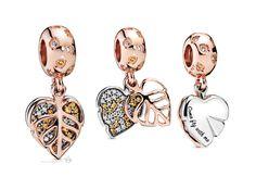 Pandora 2019 Autumn Collection - The Art of Pandora New Pandora, Pandora Story, Pandora Bracelet Charms, Pandora Jewelry, Pandora Accessories, Pandora Rose Gold, Rose Gold Jewelry, Cute Jewelry, Chokers