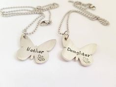 Hey, I found this really awesome Etsy listing at https://www.etsy.com/uk/listing/546498451/mum-and-daughter-necklace-beautiful