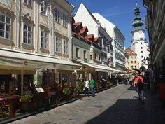 Bratislava on a lovely warm autumn day