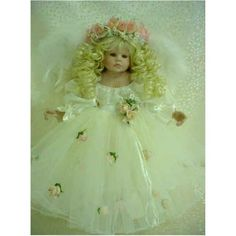 An Angel On Earth 18in Porcelain Doll by Beverly Stoehr: Toys