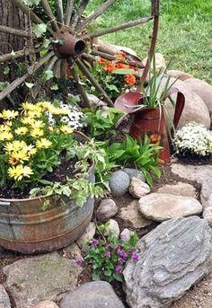 Beautiful front yard rock garden landscaping ideas (72) #LandscapeIdeasFrontYard #LandscapingPlans  #LandscapingIdeas
