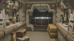 Spaceship Interior, Futuristic Interior, Spaceship Design, Alien Isolation Pc, Space Story, Alien Ship, Sci Fi Environment, Sci Fi Models, Sci Fi Ships