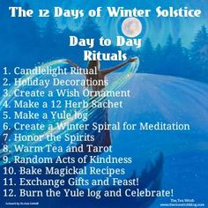 Celebrating The Winter Solstice Winter Solstice Rituals, Winter Solstice Traditions, Pagan Yule, Wiccan, Magick, Samhain Ritual, Yule Traditions, Pagan Festivals, Witchcraft Spell Books