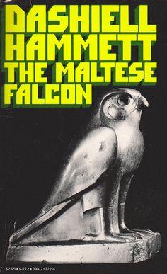 The Maltese Falcon by Dashiell Hammett by ElwoodAndEloise on Etsy, $8.00