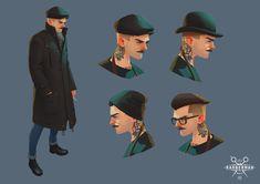 Speedpaint of Barberman - The Character From Real Life — Компьютерная графика и анимация — Render.ru