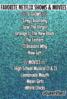 highschool musical , and lemonade mouth. the rest are the shit Netflix Movie List, Netflix Movies To Watch, Movie To Watch List, Netflix Tv Shows, Tv Series To Watch, Movies Showing, Movies And Tv Shows, Best Teen Movies, Netflix Suggestions
