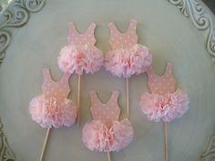 princess ballet birtday | Ballerina tutu Cupcake Toppers for Ballet party or Birthday Party