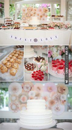 Shabby Chic Garden Wedding Ideas | CHECK OUT MORE IDEAS AT WEDDINGPINS.NET | #weddingcakes
