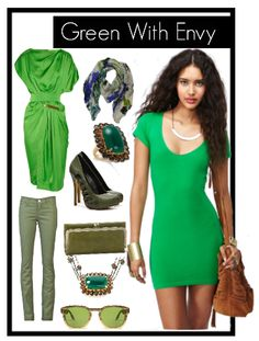 Fall 2012 Trend: Shades of Green  Want those pants