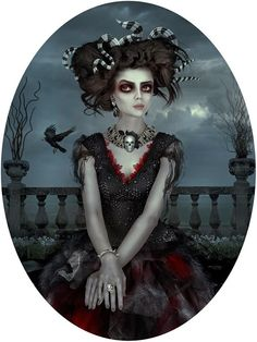 """Nightmare in Wonderland"" series by Natalie Shau - Group Show at Distinction Gallery 