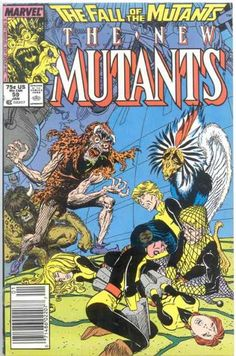 The New Mutants, The Fall of The Mutants