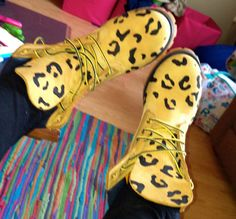Hey, I found this really awesome Etsy listing at https://www.etsy.com/listing/128126467/customers-provide-boots-leopard-print