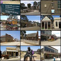 Sovereign Hill Ballarat Victoria Australia