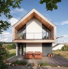 GOL 2 - Einfamilienhaus: Terrasse von g.o.y.a. Architekten