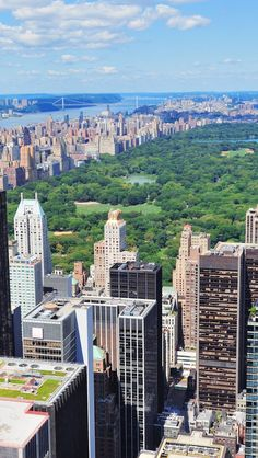 New York Central Park From Above