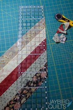 Quilt Binding Basics - Part 3 (Scrappy Bias Binding How-to) | Jaybird Quilts