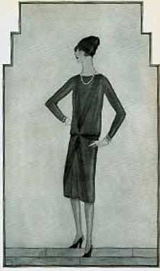 The Original LBD - Coco Chanel's 'Ford' Dress 1926