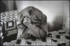 Raymond Depardon :: Psychiatric hospital near Turin, Italy, 1980 [from Manicomio. Secluded Madness] more [+] by R. Mental Asylum, Insane Asylum, Magnum Photos, Musée National D'art Moderne, Grandes Photos, Old Hospital, Psychiatric Hospital, Henri Cartier Bresson, San Clemente
