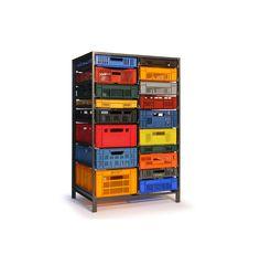 Crate Cabinet - Lensvelt