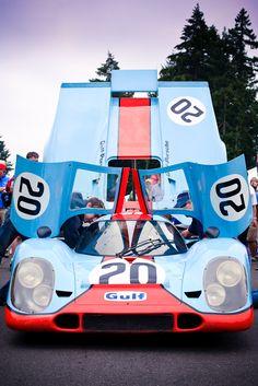 Porsche 917 Gulf colours