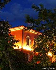 Masterful architectural lighting on the facades and superb suites and facilities in one of best boutique hotels. Best Boutique Hotels, Light Architecture, Neoclassical, Facades, Old Town, Old Things, Cabin, Traditional, Mansions
