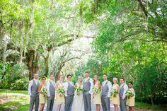 Yellow, Green + White Magnolia Plantation Wedding // Dana Cubbage Weddings // Charleston SC Wedding Photography