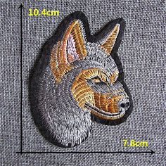 FairyTeller Cartoon Animalpattern Patch Hot Melt Adhesive Applique Embroidery Patch Diy Clothing Accessory Patch *** Click image to review more details.