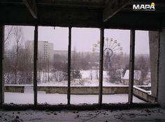 """#SabíasQue: en #Ucrania existe una ciudad abandona llamada Pripyat, es conocida porque sufrió los efectos del peor accidente de la historia """"energía nuclear"""" en abril de 1986"""