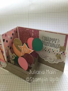 z fold stampin up Z Cards, Step Cards, Fun Fold Cards, Folded Cards, Cool Cards, Kids Cards, Stampin Up Cards, Pop Up Greeting Cards, Pop Up Cards
