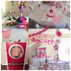 """Leilani's """"American Girl"""" Cafe Inspired Birthday Party  