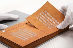 'The Drinkable Book', A Pamphlet Teaching Safe Water Drinking Habits Printed on Filter Paper