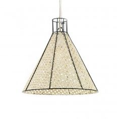 STRAW anthracite pendant lamp