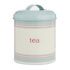 Duck Egg Tea Storage Tin