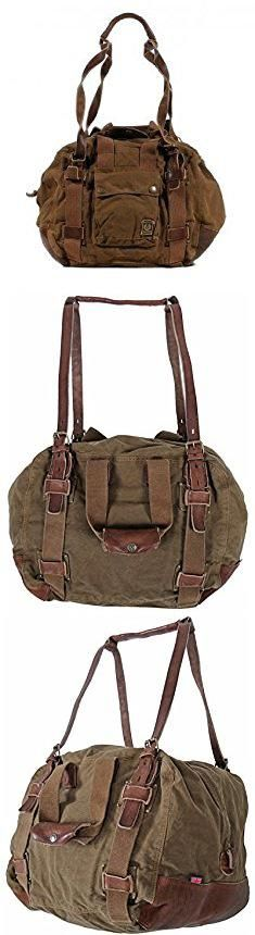 Belstaff Bag. Belstaff Military Bag 583 Edition! Mountain Brown.  #belstaff #bag #belstaffbag Belstaff Bags, Canvas Laptop Bag, Military, Women's Handbags, Medium Bags, Mountains, Leather, Fashion Design, Accessories