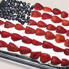 I make this every year for 4th of July.  We just call it 4th of July cake.