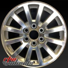 """Chevy Yukon wheels for sale 2008-2009. 18"""" Machined rims 5355 - http://www.rtwwheels.com/store/shop/18-chevy-yukon-wheels-oem-machined-silver-5355/"""