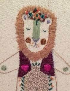 Illustrator, embroiderer and crafter www.facebook.com/megangriffithsillustration...