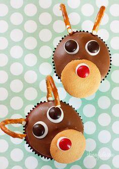 Rudolph Cupcake - Precious Photography