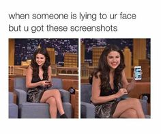 Selena is me by bitchslayings Really Funny Memes, Stupid Funny Memes, Funny Relatable Memes, Haha Funny, Funny Posts, Funny Cute, Hilarious, Funny Stuff, Photo Humour